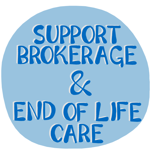 How can Support Brokerage enhance the lives of people with life-limiting illness and their families?